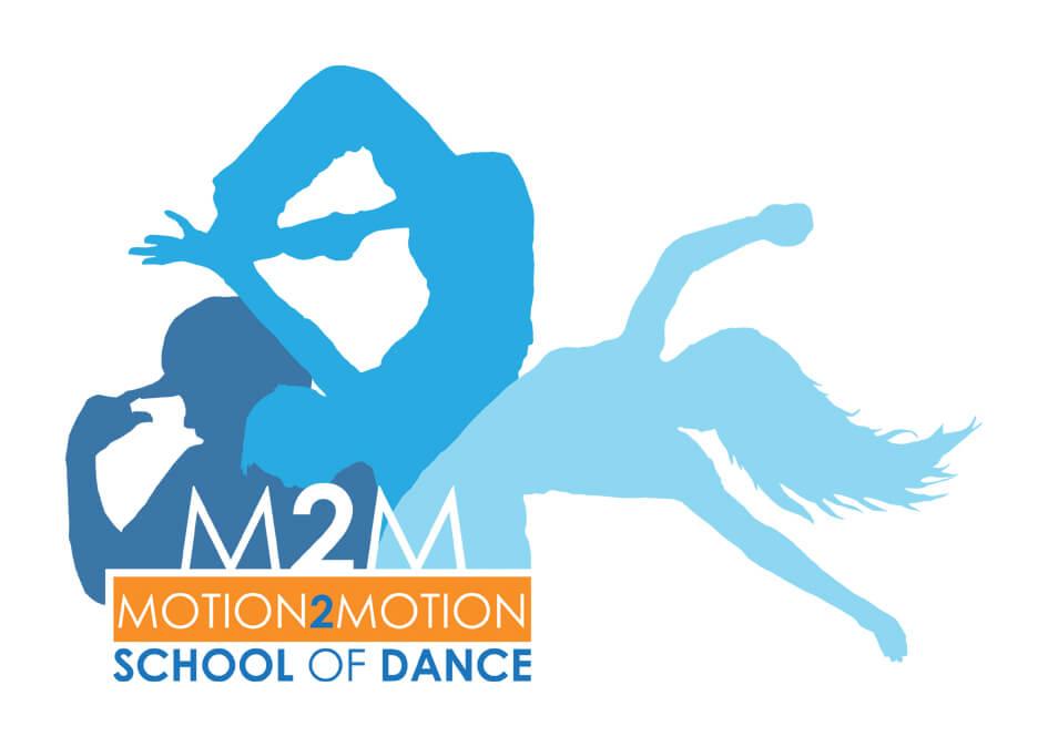 Motion2Motion School of Dance Alternate logo