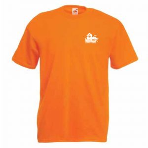Motion2Motion Branded-T-Shirt-Orange-Front