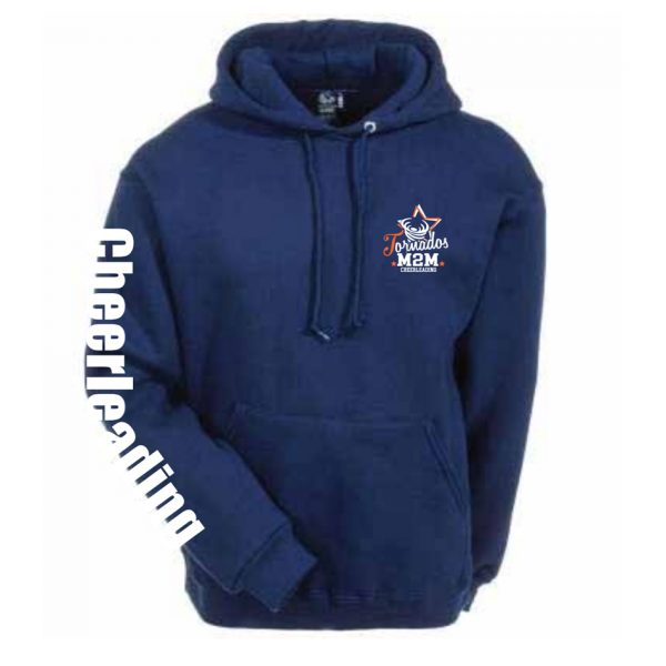 Motion2Motion Branded Tornados-Hoody-Front